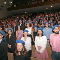 Momentos de la premiación al Mérito Estudiantil (fotogalería)